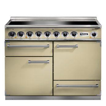 Falcon Range Cooker, Deluxe 1092, Induktions-Kochfeld, cream, creme, Standherd, Landhausherd