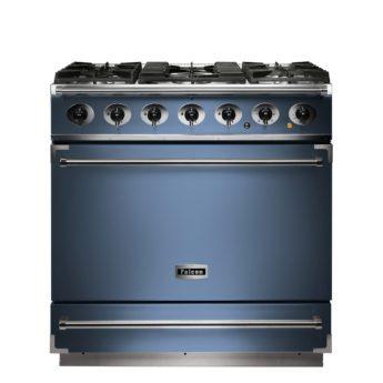 Falcon Range Cooker, 900s, Gas-kochfeld, china blue, blau, Standherd, Landhausherd