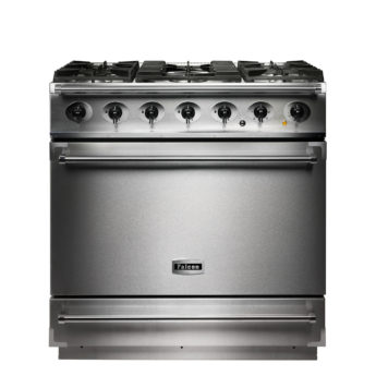 Falcon Range Cooker, 900s, Gas-kochfeld, stainless steel, stahl, grau, Standherd, Landhausherd