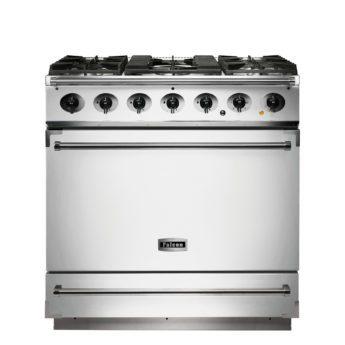 Falcon Range Cooker, 900s, Gas-kochfeld, white, weiss, Standherd, Landhausherd