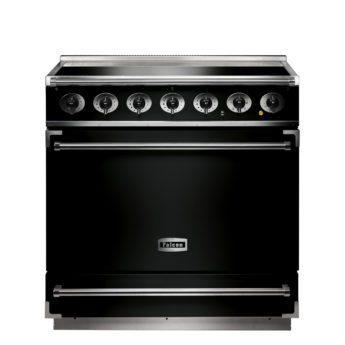 Falcon Range Cooker, 900s, Induktions-kochfeld, black, schwarz, Standherd, Landhausherd