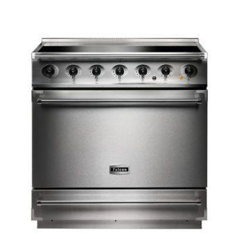 Falcon Range Cooker, 900s, Induktions-kochfeld, stainless steel, stahl, grau, Standherd, Landhausherd