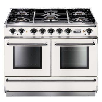 Falcon Range Cooker, Continental 1092, Gas-kochfeld, white, weiss, Standherd, Landhausherd