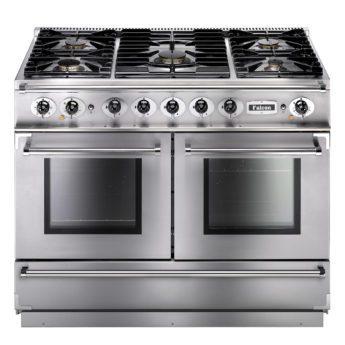 Falcon Range Cooker, Continental 1092, Gas-kochfeld, stainless steel, stahl, grau, Standherd, Landhausherd