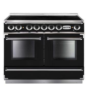 Falcon Range Cooker, Continental 1092, Induktions-kochfeld, black, schwarz, Standherd, Landhausherd