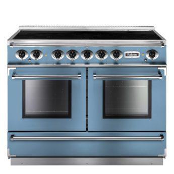 Falcon Range Cooker, Continental 1092, Induktions-kochfeld, china blue, blau, Standherd, Landhausherd