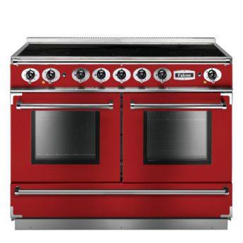 Falcon Range Cooker, Continental 1092, Induktion-kochfeld, cherry red, rot, Standherd, Landhausherd