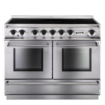 Falcon Range Cooker, Continental 1092, Induktions-kochfeld, stainless steel, stahl, grau, Standherd, Landhausherd