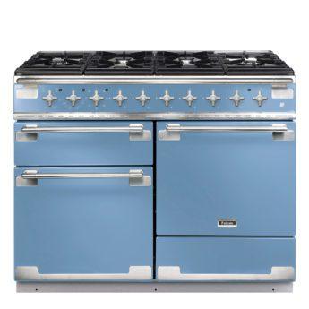Falcon Range Cooker, Elise 110, Gas-kochfeld, china blue, blau, Standherd, Landhausherd