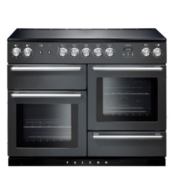 Falcon Range Cooker, Nexus 110, Induktions-kochfeld, slate, grau, Standherd, Landhausherd