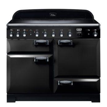 Falcon Range Cooker, Elan Deluxe 110, Induktions-kochfeld, black, schwarz, Standherd, Landhausherd