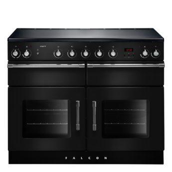 Falcon Range Cooker, Esprit 110, Induktions-kochfeld, black, schwarz, Standherd, Landhausherd