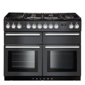 Falcon Range Cooker, Nexus SE 110, Gas-kochfeld, slate, grau, Standherd, Landhausherd