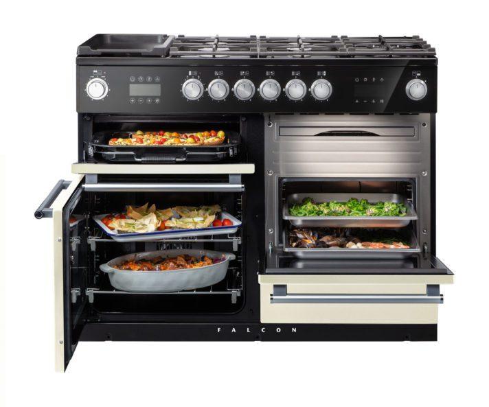 falcon, range cooker, nexus steam, landhausherd, standherd