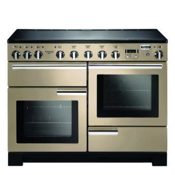 Falcon Range Cooker, Professional Deluxe 110, Induktions-kochfeld, cream, creme, Standherd, Landhausherd