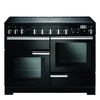 Falcon Range Cooker, Professional Deluxe 110, Induktions-kochfeld, black, schwarz, Standherd, Landhausherd