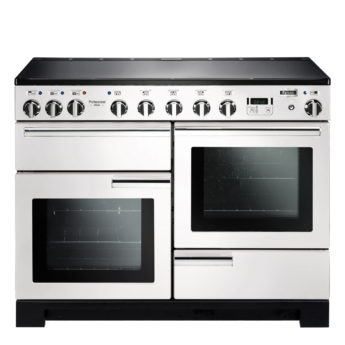 Falcon Range Cooker, Professional Deluxe 110, Induktions-kochfeld, white, weiss, Standherd, Landhausherd