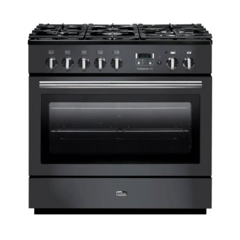 range cooker deutschland, falcon, professional+ fx, Slate, landhausherd, standherd, gas-kochfeld