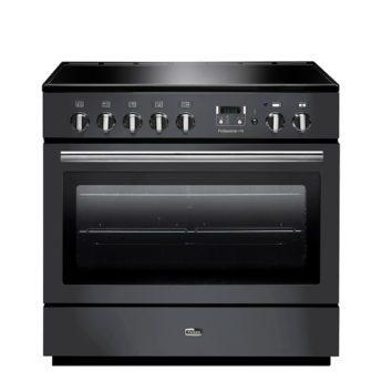 Falcon Range Cooker, Professional Plus FX 90, Induktions-kochfeld, slate, grau, Standherd, Landhausherd