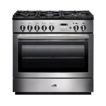 range cooker deutschland, falcon, professional+ fx, Steel, Edelstahl, landhausherd, standherd, gas-kochfeld