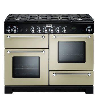 Falcon Range Cooker, Kitchener 110, Gas-kochfeld, cream, Standherd, Landhausherd
