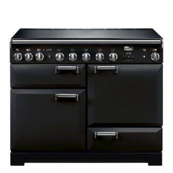 Falcon Range Cooker, Leckford Deluxe 110, Induktions-kochfeld, black, schwarz, Standherd, Landhausherd