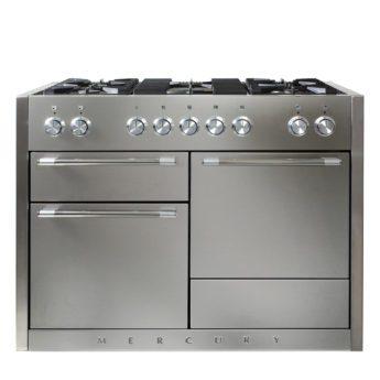 Falcon Range Cooker, Mercury 1200, Gas-kochfeld, stainless steel, stahl, grau, Standherd, Landhausherd