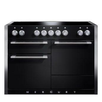 Falcon Range Cooker, Mercury 1200, Induktions-kochfeld, black matt, schwarz, Standherd, Landhausherd
