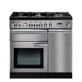 Falcon Range Cooker, Professional Plus 90, Gas-kochfeld, stainless steel, stahl, grau, Standherd, Landhausherd
