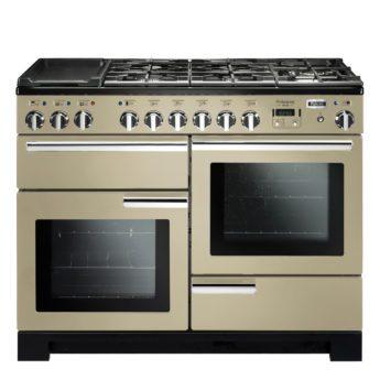 Falcon Range Cooker, Professional Deluxe 110, Gas-kochfeld, cream, creme, Standherd, Landhausherd