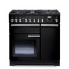 Falcon Range Cooker, Professional Deluxe 90, Gas-kochfeld, black, schwarz, Standherd, Landhausherd