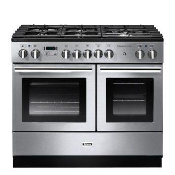 Falcon Range Cooker, Professional Plus FX 100, Gas-kochfeld, stainless steel, stahl, grau, Standherd, Landhausherd