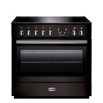 Falcon Range Cooker, Professional Plus FX 90, Induktions-kochfeld, black, schwarz, Standherd, Landhausherd