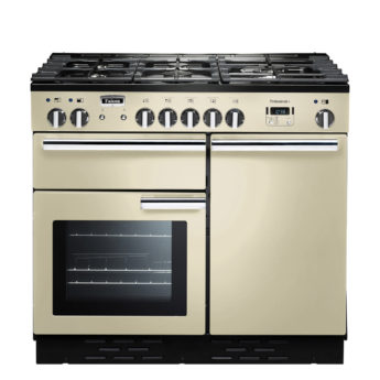 Falcon Range Cooker, Professional Plus 100, Gas-kochfeld, cream, creme, Standherd, Landhausherd