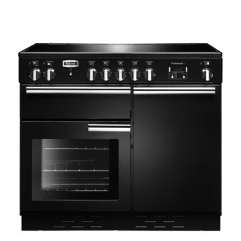 Falcon Range Cooker, Professional Plus 100, Induktions-kochfeld, black, schwarz, Standherd, Landhausherd