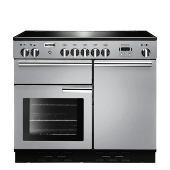 Falcon Range Cooker, Professional Plus 100, Induktions-kochfeld, stainless steel, stahl, grau, Standherd, Landhausherd