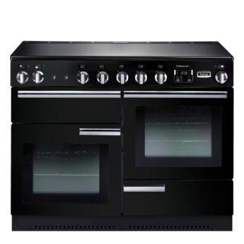 Falcon Range Cooker, Professional Plus 110, Induktions-kochfeld, black, schwarz, Standherd, Landhausherd