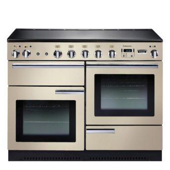 Falcon Range Cooker, Professional Plus 110, Induktions-kochfeld, cream, creme, Standherd, Landhausherd