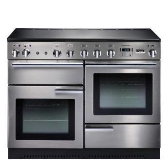 Falcon Range Cooker, Professional Plus 110, Induktions-kochfeld, stainless steel, stahl, grau, Standherd, Landhausherd