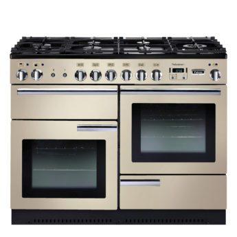 Falcon Range Cooker, Professional Plus 110, Gas-kochfeld, cream, creme, Standherd, Landhausherd