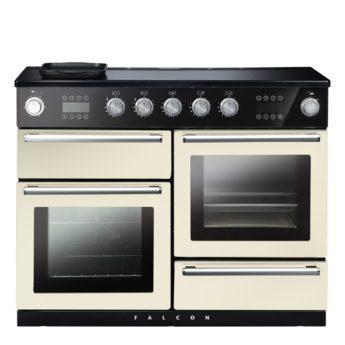 Falcon Range Cooker, Nexus 110 Steam, Induktions-kochfeld, ivory, elfenbein, Standherd, Landhausherd