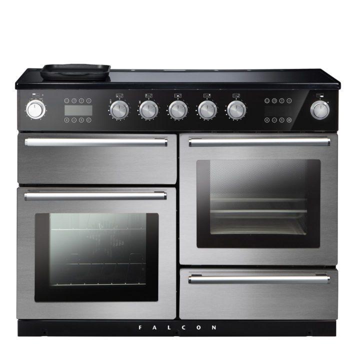 Falcon Range Cooker, Nexus 110 Steam , Induktions-kochfeld, stainless steel, stahl, grau, Standherd, Landhausherd