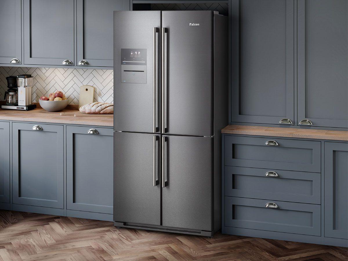 Falcon-SXS-Deluxe-Kühl-Gefrierschrank