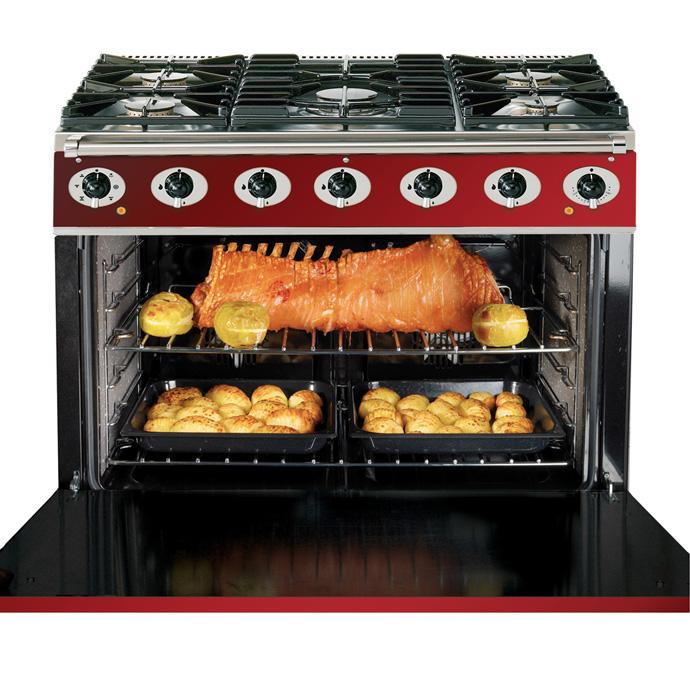 falcon range cooker deutschland, 900s, landhausherd, standherd, küche, ofen, backen, impression
